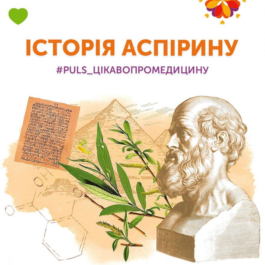 Історія Аспірину