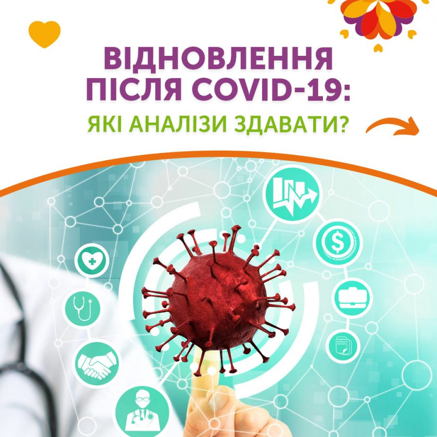 Відновлення після COVID-19: які аналізи здавати?
